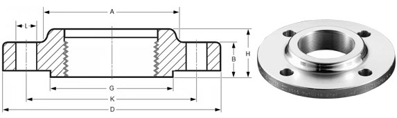 threaded_flange_dimn